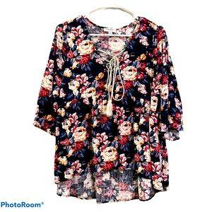 Umgee USA floral blouse